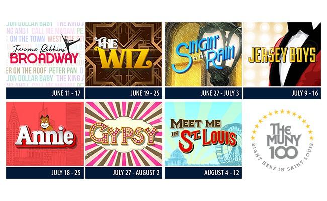 Muny 100 Show Dates