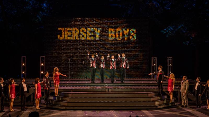Jersey Boys production photos