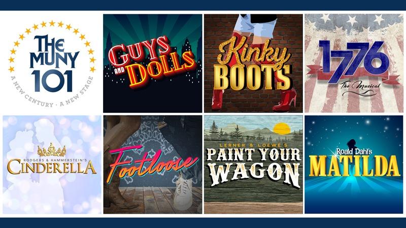 The Muny 101th season show lineup
